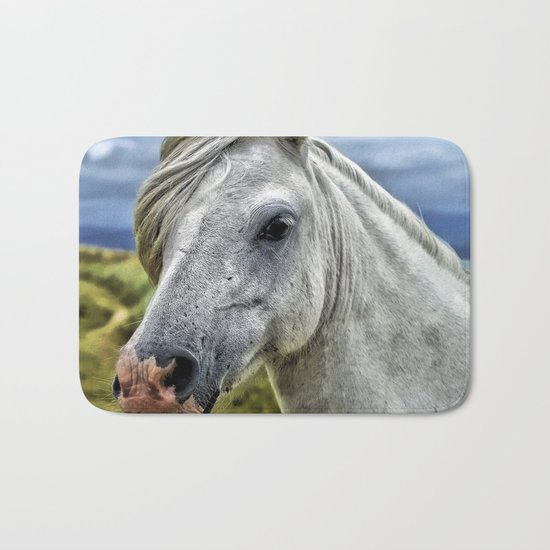 Horse Head Bath Mat