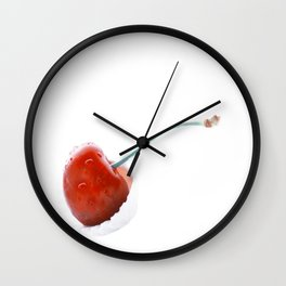 Only one cherry Wall Clock