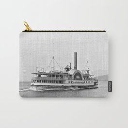 Ticonderoga Side Wheeler Steamboat Carry-All Pouch