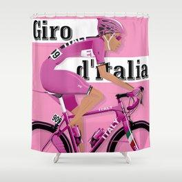 GIRO D'ITALIA Grand Cycling Tour of Italy Shower Curtain