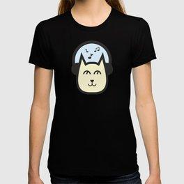 Cute Cat #society6 #decor #buyart #artprint T-shirt