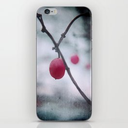 Lonely Winterberry iPhone Skin