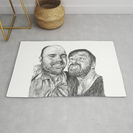 Karl Pilkington - Ricky Gervais, we need more of them! Rug