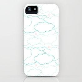 Cloud Dash iPhone Case