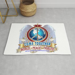 Come Together for Peace Rug