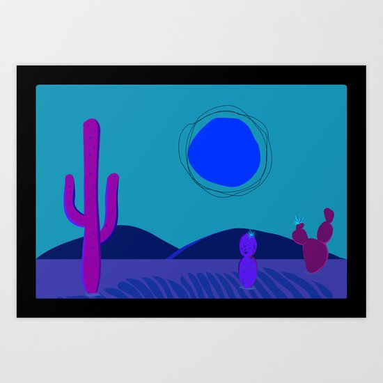 Swelterin' in the Southwest Art Print