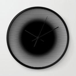 (Un)focused Circle Wall Clock