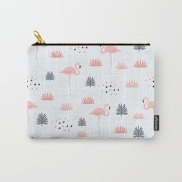 Minimal Flamingo Carry-All Pouch