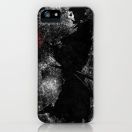 Kanji Samurai Grunge iPhone Case