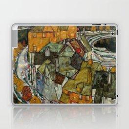 "Egon Schiele ""Crescent of Houses II (Island Town)"" Laptop & iPad Skin"