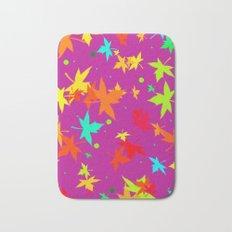Forever Autumn Leaves purple 4 Bath Mat