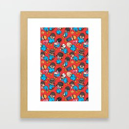 TF2 Kiddies Framed Art Print