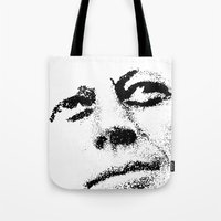 jfk Tote Bags featuring JFK by Mullin
