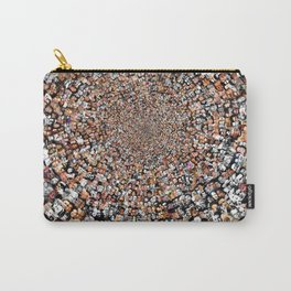 """The Work 3000 Famous and Infamous Faces Collage Carry-All Pouch"