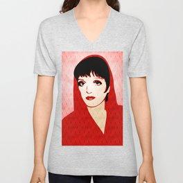 Liza Minnelli - Warhol Era - Pop Art Unisex V-Neck