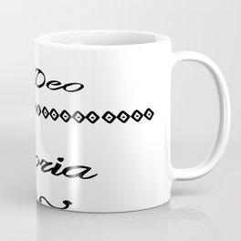 Soli Deo Gloria- For the Glory of God Alone Coffee Mug