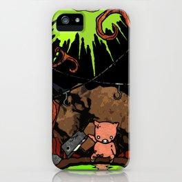 Dig Big Pig iPhone Case