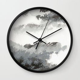 clouds_december Wall Clock