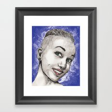 Karma Framed Art Print