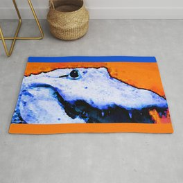 Gator Art - Swampy - Florida - Sharon Cummings Rug