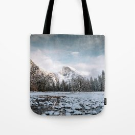Yosemite Winter Wonderland Tote Bag