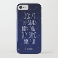 coldplay iPhone & iPod Cases featuring Look How They Shine For You 2.0 by Adel