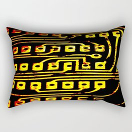 Beercan Furnace Rectangular Pillow