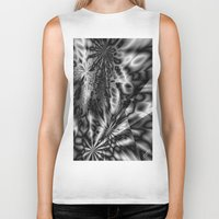 "psychedelic Biker Tanks featuring ""  psychedelic ""  by shiva camille"