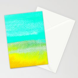 Calm Waters Watercolor Texture Stationery Cards