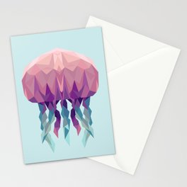 J is for Jellyfish Stationery Cards