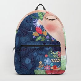 There are women that dreams with red cats Backpack