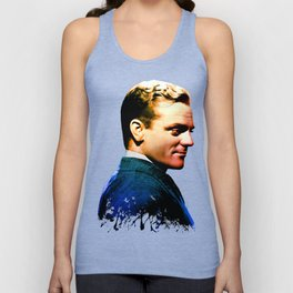 James Cagney, blue screen Unisex Tank Top