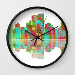 Darwin Skyline 1 Wall Clock