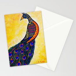 Colours in my wing Stationery Cards