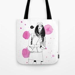 I am a girl Tote Bag