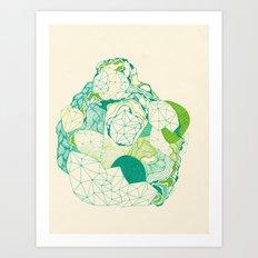 Post Break-Up Lovers Art Print