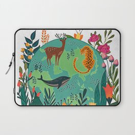 Once Destroyed Nature's Beauty Cannot Be Repurchased At Any Price Laptop Sleeve
