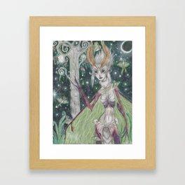 Queen of the Lunas Framed Art Print