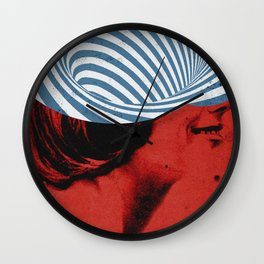 Cinquante | Collage Wall Clock