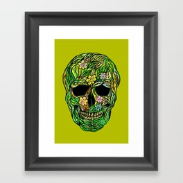 Skull Nature Framed Art Print