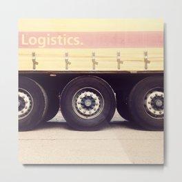 Logistics Metal Print