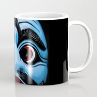 bali Mugs featuring Bali mask by VanessaGF