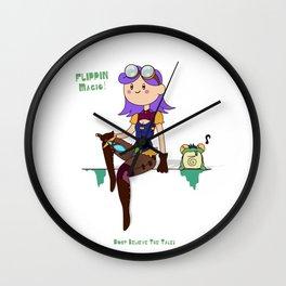 Mya Time! Wall Clock