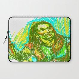 Charlie Bradbury SPN Laptop Sleeve