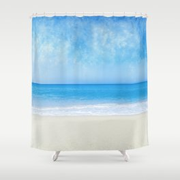 A Day At The Beach - II Shower Curtain