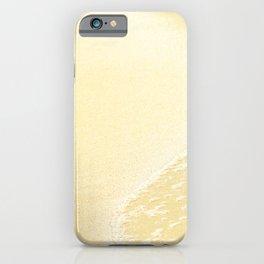 Kapalua Beach sparkling golden sand and seafoam Maui Hawaii iPhone Case