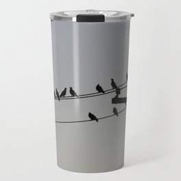 Pigeon Meeting Travel Mug