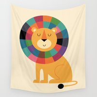 nursery Wall Tapestries featuring Mr. Confidence by Andy Westface