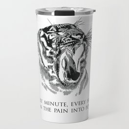 Pain Into Power (Lights) Travel Mug