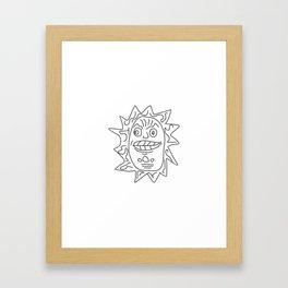 Civilization Maya #society6 #decor #buyart #artprint Framed Art Print